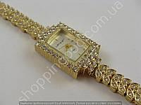 Часы King Girl 9504 женские золотистые с белым циферблатом