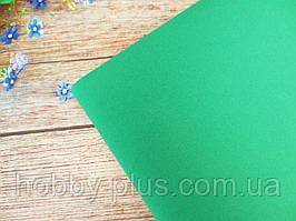 Фоамиран 1 мм, 50х50 см, цвет ХВОЙНЫЙ