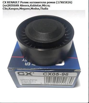 Ролик натяжителя ремня генератора Kangoo / Clio II / Megane,, фото 2