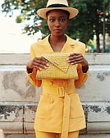 Женская кожаная сумка ASSYMETRIC, фото 1