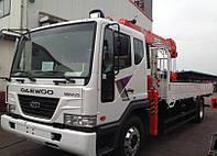 Манипулятор, 5 тонн, 3 тонн, Daewoo
