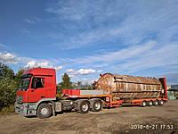 Трал, 50 тонн, Полуприцеп