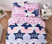 Комплект постельного белья Семейный компаньен Бязь Голд Люкс 100% хлопок