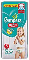 Подгузники-трусики Pampers Pants Junior 5 (12-17 кг) - 48 шт.