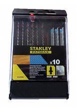 Набор пильных полотен для электролобзика 10 шт STANLEY STA29240-XJ