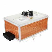 Інкубатор для яєць Курочка Ряба ІБ 60 (170) автоматичний , цифровий терморегулятор, ламповий, вентилятор