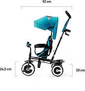 Трехколесный велосипед Kinderkraft Aston Turquoise, фото 8