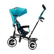 Трехколесный велосипед Kinderkraft Aston Turquoise, фото 3