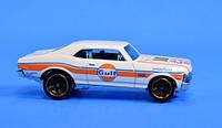 Машинка Hot Wheels Хот Вілс '68 CHEVY NOVA. Mattel FYF01-D520. Оригінал