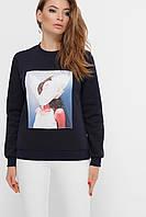 Бомбер женский модный ,свитшоты женские модные ,серая осенняя кофта,модные молодежные свитшоты,свитшот черный