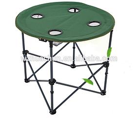 Стол туристический Паук Kronos Top R28859 70х60 см зеленый (gr_009793)