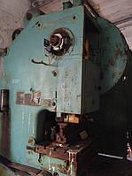 Пресс кривошипный К-217, усилием 100т. Пр-во Барнаул, фото 1
