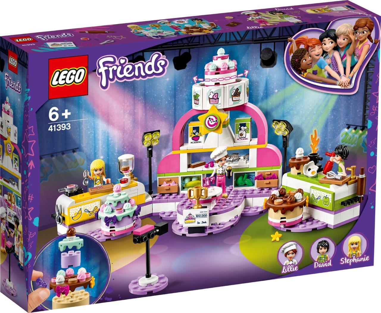 Lego Friends Соревнование кондитеров 41393