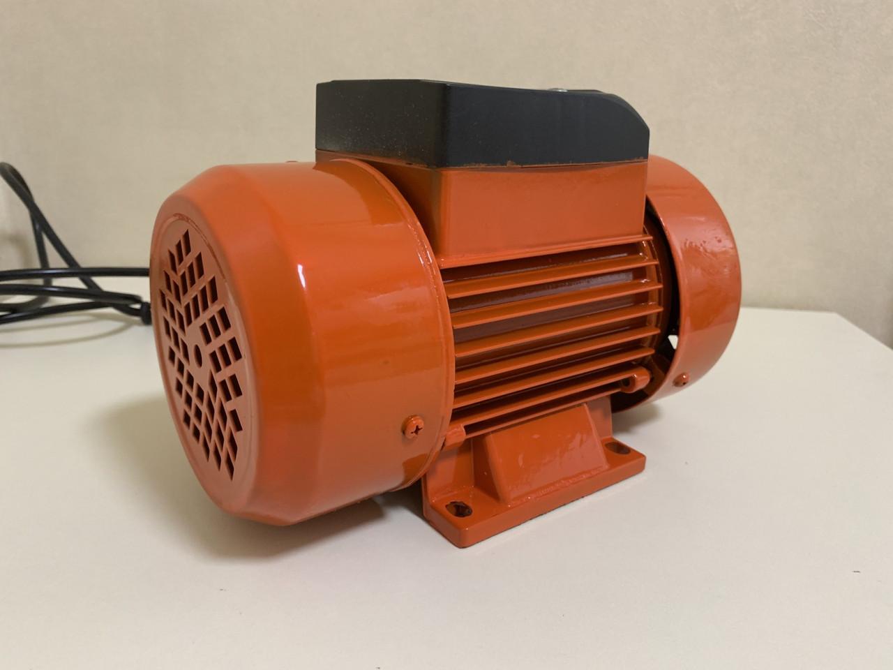 Вибродвигатель для вибростола (площадочный вибратор) 220 вольт West-Tec WSVM-510L (желтый)
