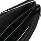 Мужской Борсетка Клатч Большой Baellerry (A418-1) с Ремешком Искусственная Кожа Черный, фото 6