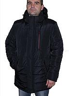 Куртка мужская зимняя удлиненная, с 48 по 68 размер