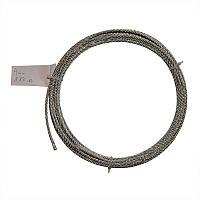 Трос стальной оцинкованный DIN 3055 4 мм (отрезок)