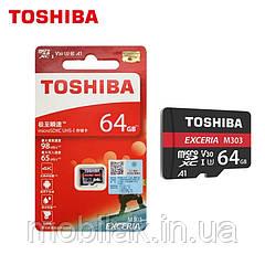 TOSHIBA Micro SD 64 Гб