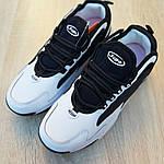 Чоловічі кросівки SUPO (біло-чорні), фото 9