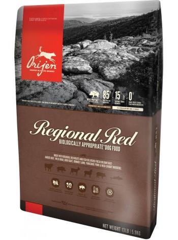 Orijen (Ориджен) Regional Red Dog биологический корм для собак всех пород, 2 кг