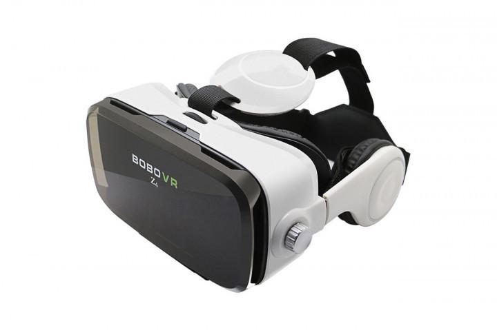 Очки виртуальной реальности VR Z4 с наушниками Зет 4 с пультом