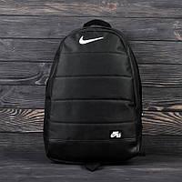 Рюкзак городской NIKE AIR черный, спортивный портфель Найк на каждый день