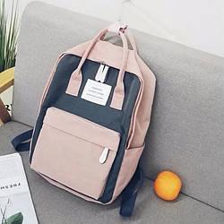 Сумка рюкзак для девочки подростка школьный, водонепроницаемый в стиле Канкен Flame Horse