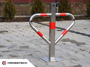 """Барьер парковочный - треугольник """"INOX"""" Krosstech"""