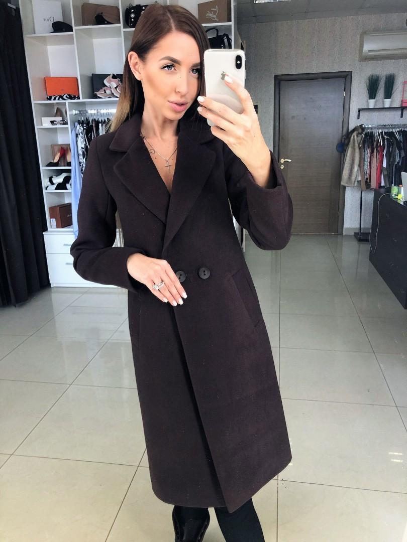 """Демисезонное пальто """"Катрин"""", ткань: шерсть, подкладка жаккард.Размер: 42,44,46,48,50. Разные цвета (1269)"""