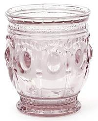 Набор 6 стаканов Siena Toscana 250мл розовое стекло