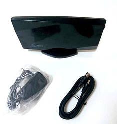 Антенна для Т2 тюнера с усилителем Kronos HDA 04 Черная (gr_008154)