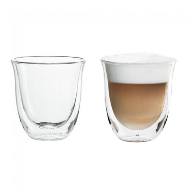 Набор рюмок - стаканов стеклянных с двойными стенками Тюльпан 80мл 2шт
