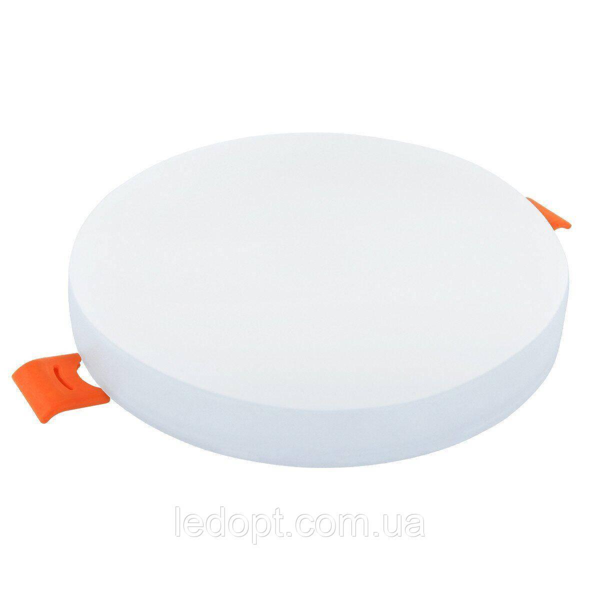 Світильник світлодіодний Biom UNI-R12W-5 12Вт круглий 5000К