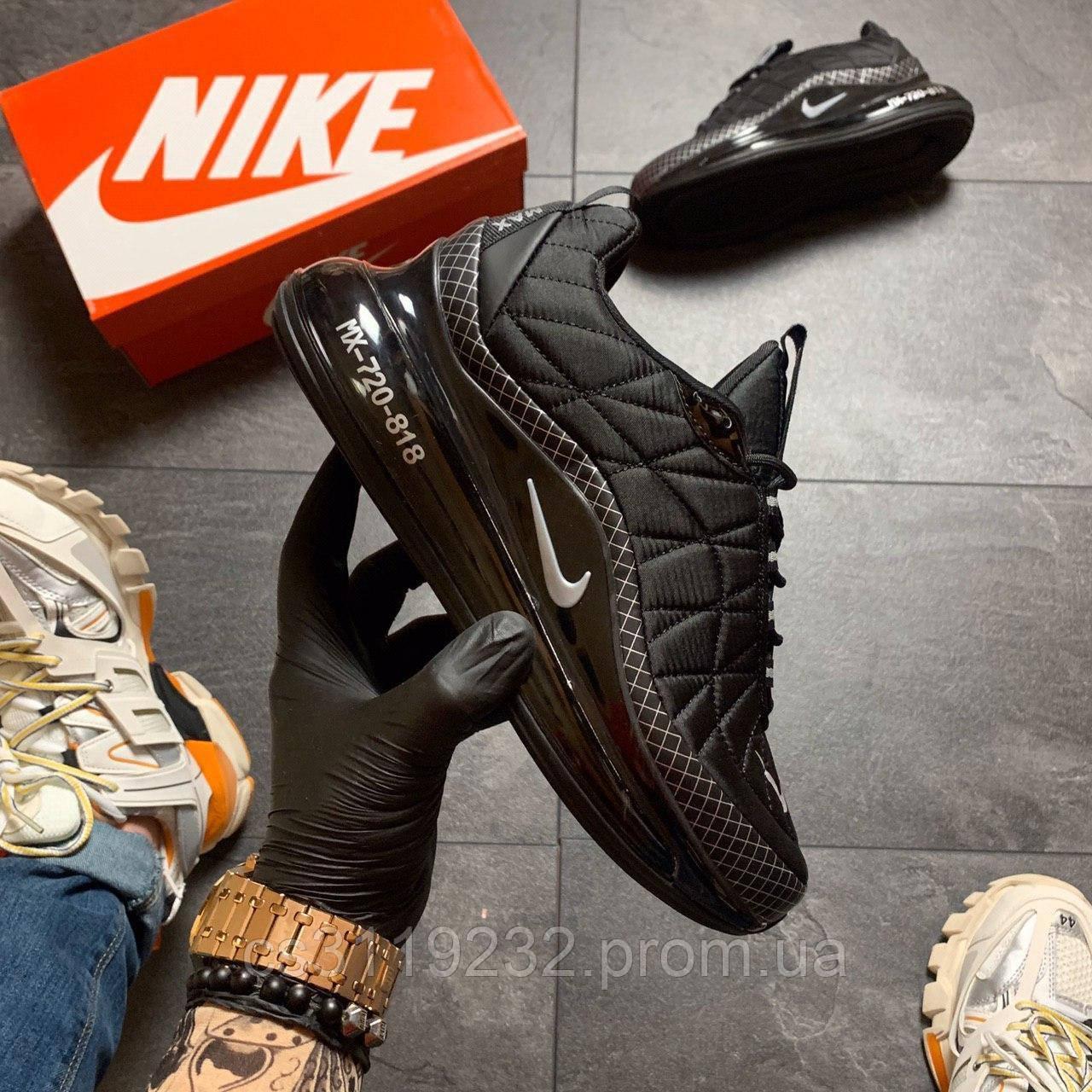 Мужские кроссовки Nike Air Max 720-98 (черные)