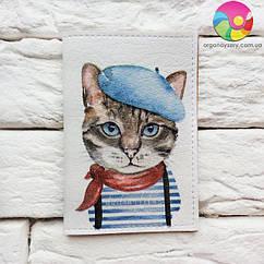 Обложка для ID-паспорта на 4 карты Cat