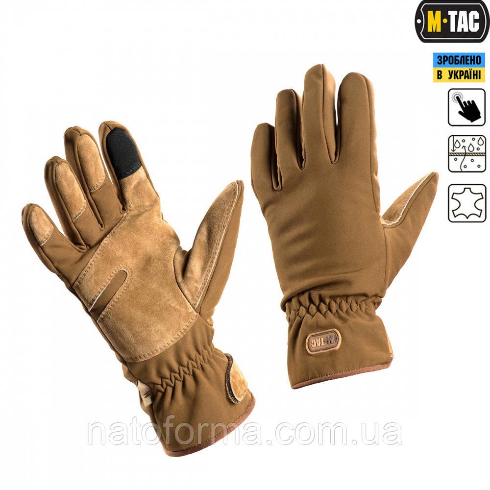 Перчатки М-Тас Waterproof Tactical Coyote
