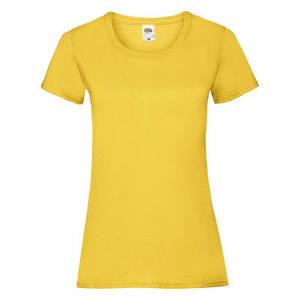 Футболка женская солнечно-жёлтая VALUEWEIGHT T