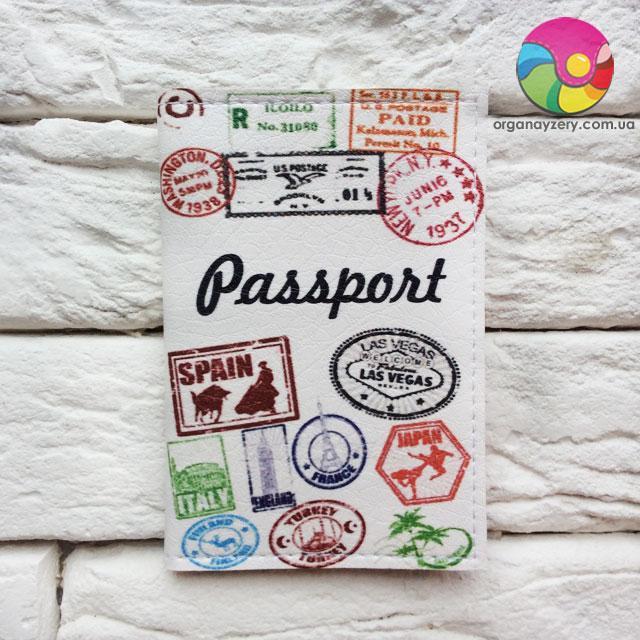 Обложка для ID-паспорта на 4 карты Путешественник