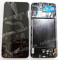 Дисплей экран Samsung Galaxy A70 A705 (A705F, A705FN) Super AMOLED Black/Blue, GH82-19747A, GH82-19787A