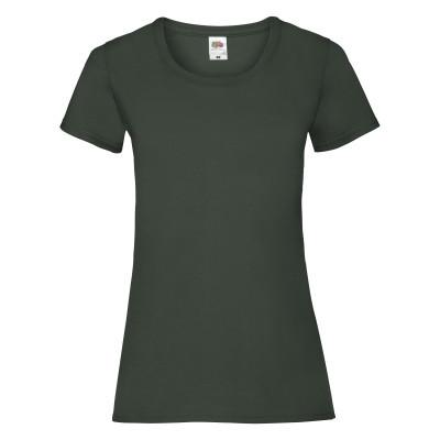 Футболка женская тёмно-зелёная VALUEWEIGHT T