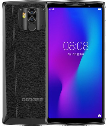 "Смартфон DOOGEE N100 4/64Gb Black, 10000mAh, 21+8/8Мп, 8 ядер, 2sim, 5.99"" IPS, GPS, 4G (LTE)"