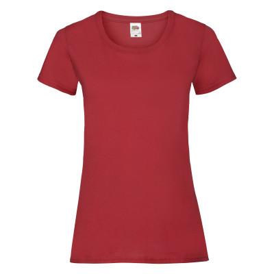 Футболка женская красная VALUEWEIGHT T