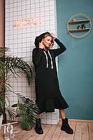 Платье женское тёплое