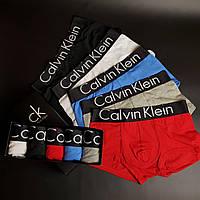 Мужское нижнее белье Calvin Klein Black Edition Набор трусов 5 штук хлопок