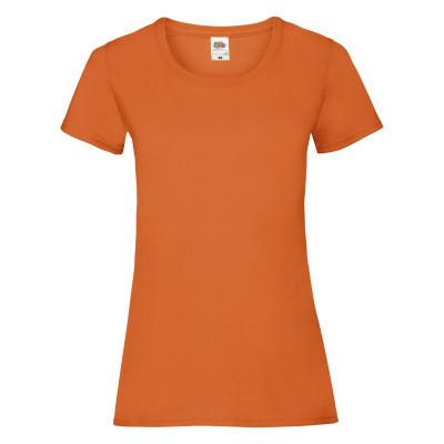 Футболка женская оранжевая VALUEWEIGHT T