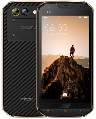"Смартфон Doogee S30 2/16Gb Gold, 2sim, 5580mAh, IP68, 8+3/5Мп, экран 5"" IPS, 4 ядра, GPS, 4G"