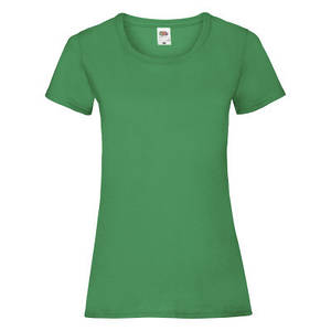 Футболка женская ярко-зеленая VALUEWEIGHT T