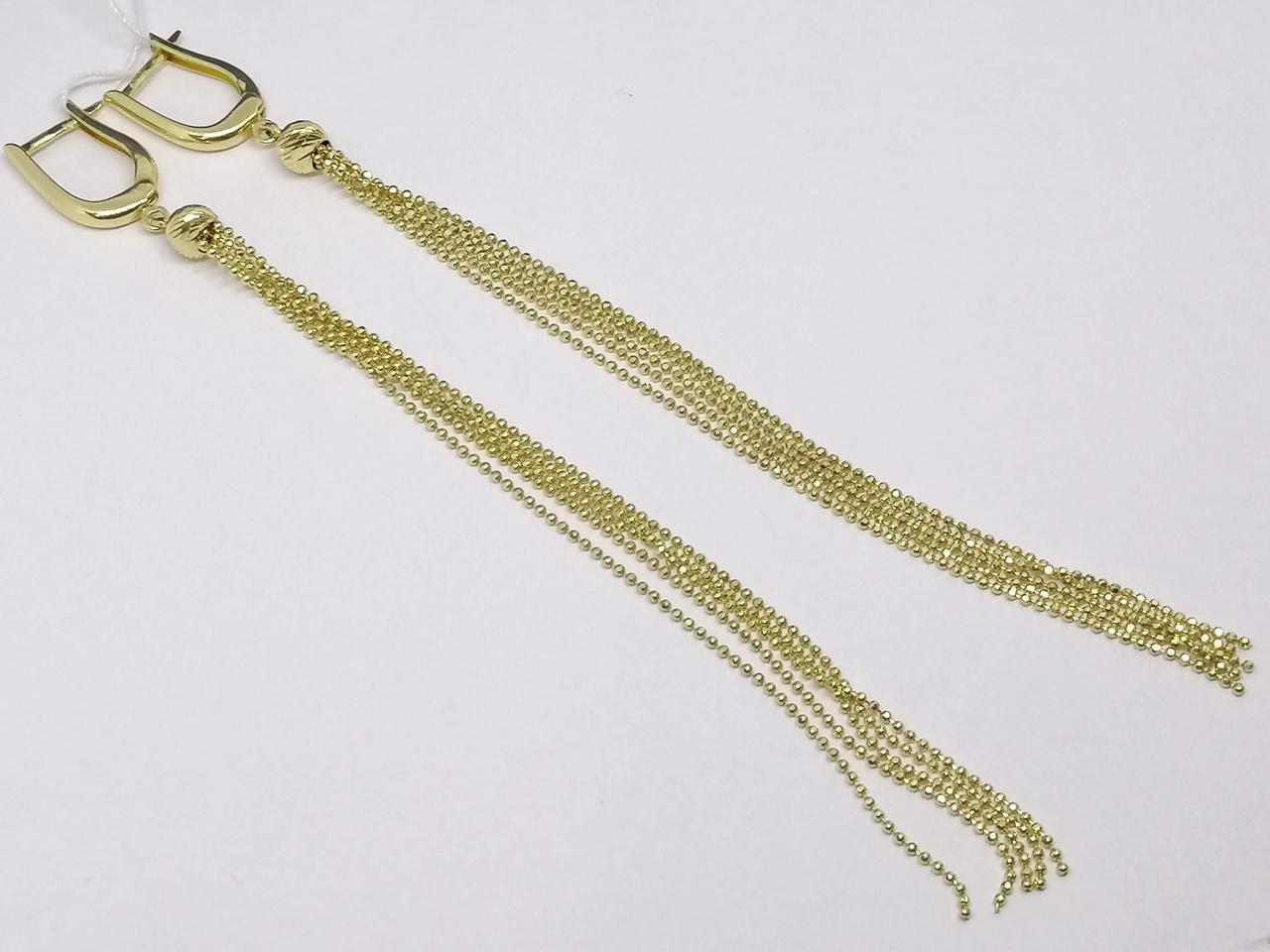Золоті сережки. Артикул 105951Ж