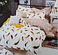 Двохспальный комплект постельного BAYN HOMES  Koloco сатин (BЕ-4588), фото 2