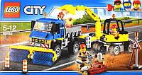 """Конструктор Lego City""""Уборочная техника"""" /323 шт/ Товар с витрины"""